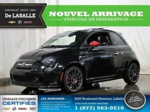 2012 Fiat 500 Abarth Very Rare Model//Tw0 Tone Leather//Panorami