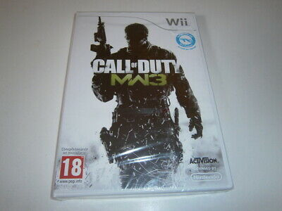 CALL OF DUTY MODERN WARFARE 3 NINTENDO WII PAL ESPAÑA NUEVO NEW...