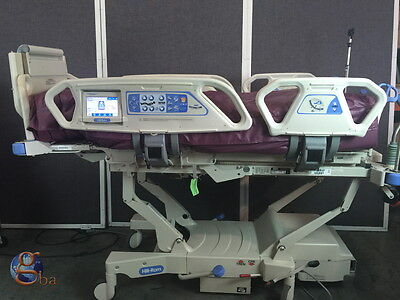 Hill-rom Totalcare P1900 Sport 2 Ii Hospital Bed W 3 Modules Touch Screen