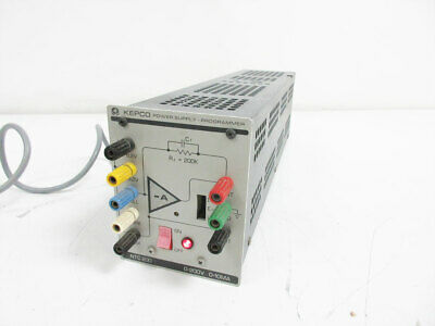Kepco Ntc200 Power Supply Programmer Managers 200 V 10 Ma Ntc 200 Ohm
