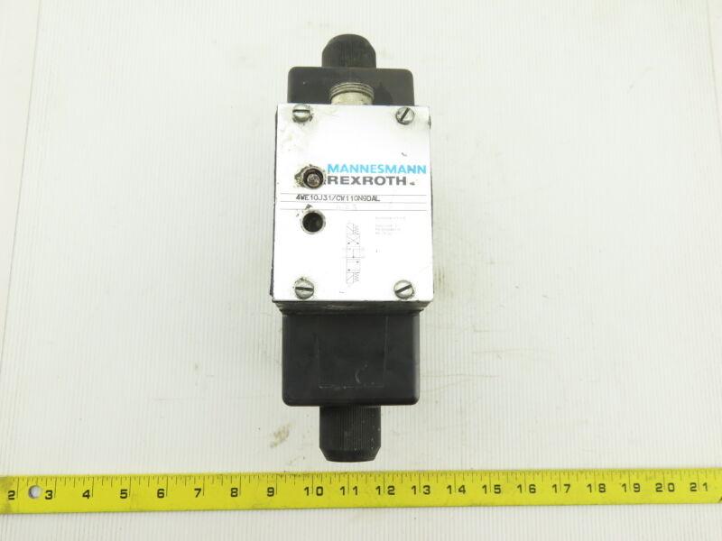 Rexroth 4WE10J31/CW110N9DAL Hydraulic Directional Control Valve W/Z2S10-1-32/V