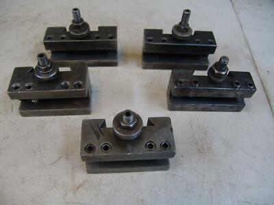 5 250-401 Ca Quick Change Turning Holder Facing Lathe Tool Post Holders