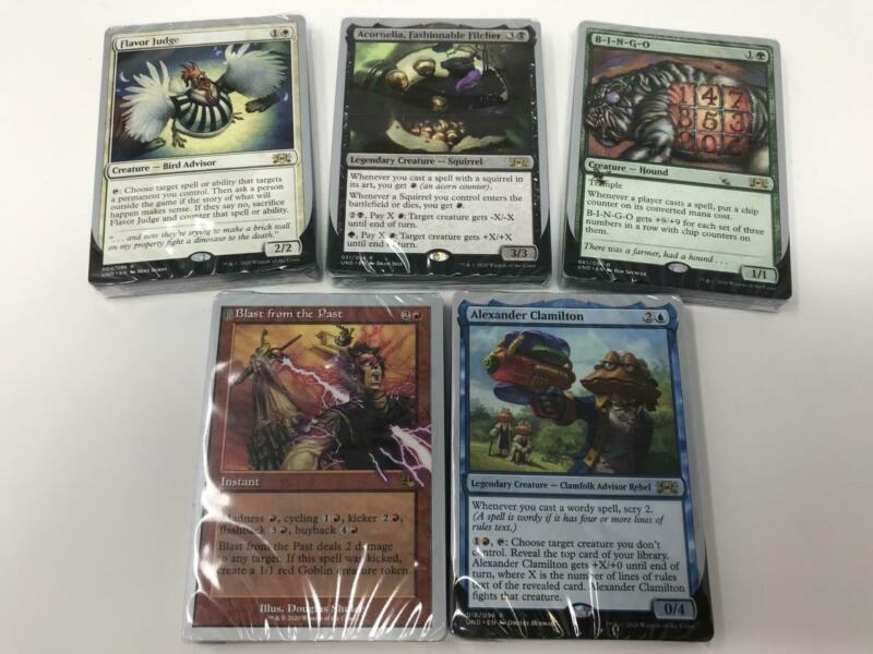 2020 Magic the Gathering MTG Unsanctioned Full Set of 5 Decks Sealed (inv:A17)