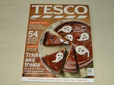Tesco Food Magazine - October 2018, Halloween Special Edition (Tesco Halloween Food)