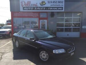 2005 Volvo S80 2.5 AWD|LEATHER|SUNROOF|