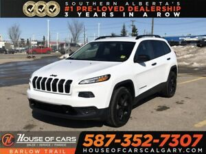 2016 Jeep Cherokee Sport / Back up camera / Bluetooth