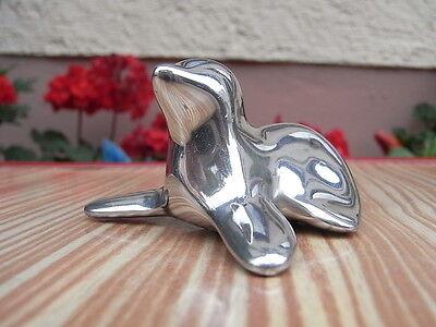 gn Skulptur Robe Aluminium Seehund Signiert Nr. 305 Kanada (Hund Robe)