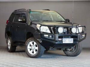 2010 Toyota Landcruiser Prado KDJ150R GXL Black 6 Speed Manual Wagon