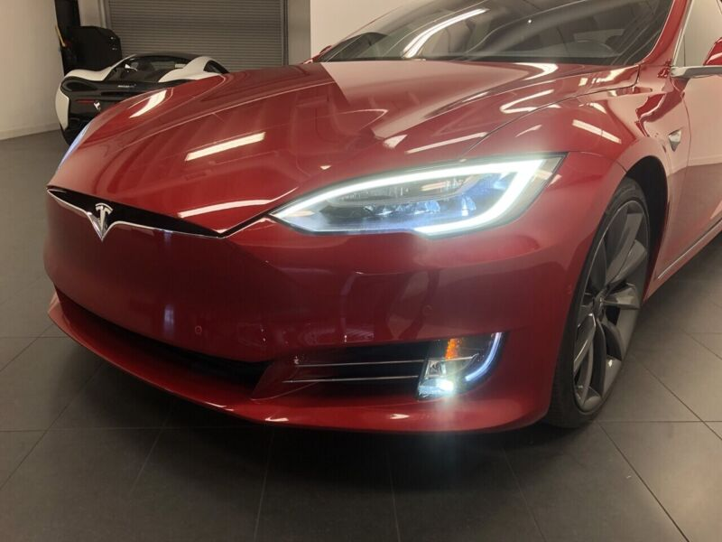 Image 11 Coche Americano usado Tesla Model S 2017