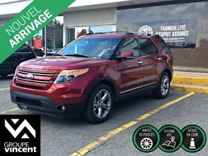 2013 Ford Explorer LIMITED AWD** GARANTIE 10 ANS**