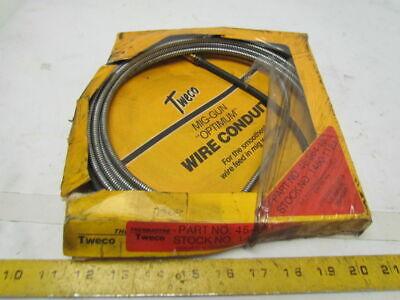 Tweco 45-564-15 Mig-gun Wire Conduit15ft 564dia Fits 500-600amp Welder Welding