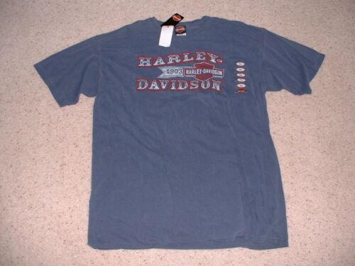 New with tags Harley-Davidson Mens T-Shirt Sz. XL, D & S, Phoenix Oregon lt blue