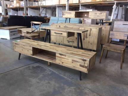 DINING TABLES/CHAIRS/HARDGOODS (NEW) 50-80% OFF RRP'S