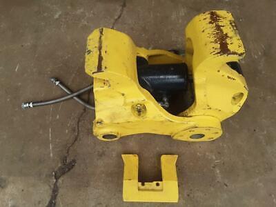 Oem Yanmar Vio55 Hydraulic Quick Coupler Vio45 Vio50 Mini Excavator Pin Grabber