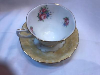 100 Years Of Royal Albert 1990 Golden Rose Teacup and Saucer Fine Bone China