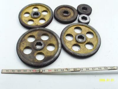 Larger Lathe Change Gear Set 6pcs