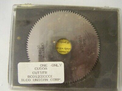 Ilco Cu50a Cutter Whell For The Kd50 Key Machine Used