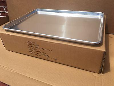 12-pack Full Size 18 Gauge Aluminum Bun Pan With Wire In Rim 18 X 26