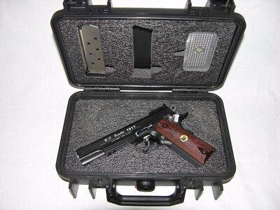 Colt Wilson Sig 1911 45ACP Pistol foam upgrade kit fits your Pelican ™ 1170 case