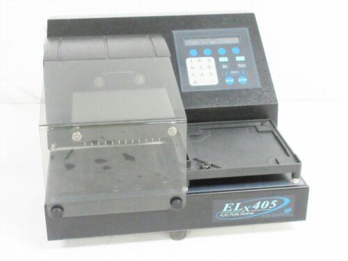 BIO-TEK INSTRUMENTS ELX-405 ELX405 AUTOMATIC PLATE WASHER ~ 96 384 WELL BIOTEK