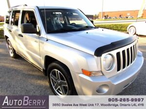 2009 Jeep Patriot Sport 4WD ***CERTIFIED ACCIDENT FREE*** $7,499