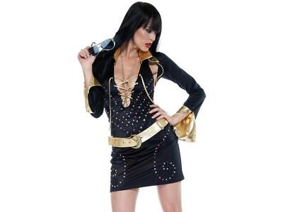 FORPLAY 4Pc Superstar Elvis Impersonator Sexy Party Costume](Superstar Costumes)