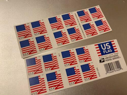 100 USPS US Flag Forever Stamps