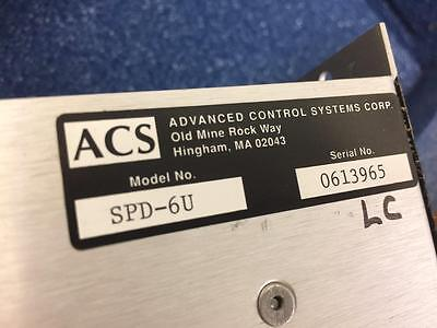 Acs Step-pak Spd-6u Uni-polar Stepping Motor Driver Module Advanced Control Sys
