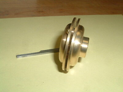 Model Hit And Miss Gas Engine Brass Muffler 18 Npt Mounting Thread