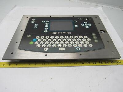 Domino A Series Plus Industrial Inkjet Barcode Printer Display Operator Keyboard