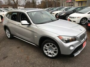 2012 BMW X1 28i/ NAVI/ LEATHER/ SUNROOF/ ALLOYS/ GREAT DEAL!