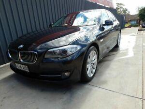 2012 BMW 5 Series F10 MY0911 520d Steptronic Black 8 Speed Sports Automatic Sedan Blair Athol Port Adelaide Area Preview