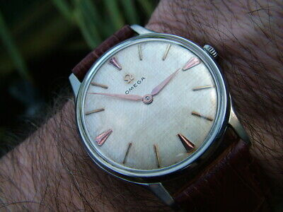 Vintage 1960 Limited Edition Omega Mens Watch Rare Cal 511 Warranty