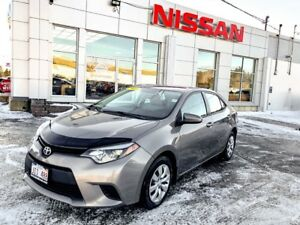 2014 Toyota Corolla LE $124 BIWEEKLY!!! Affordable and reliable!