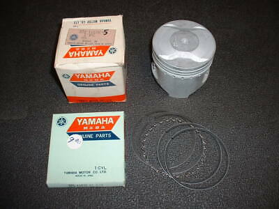NOS Yamaha XS500 / TX500 Piston and Rings, 371-11636-05, 2nd Oversize