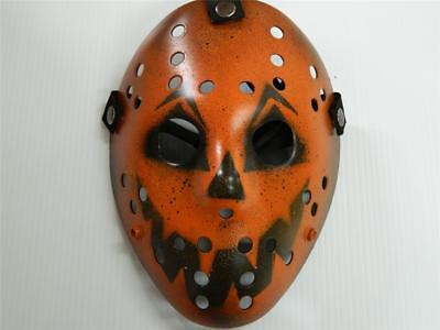 Halloween Film Jason (HALLOWEEN HORROR MOVIE PROP - Jason Modified Hockey Mask Evil)