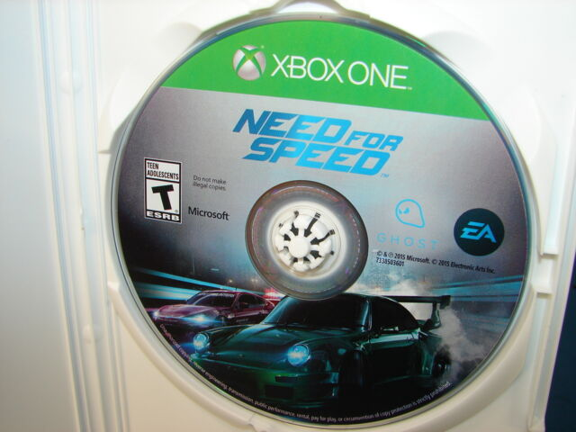 need for speed microsoft xbox one 2015 ebay. Black Bedroom Furniture Sets. Home Design Ideas