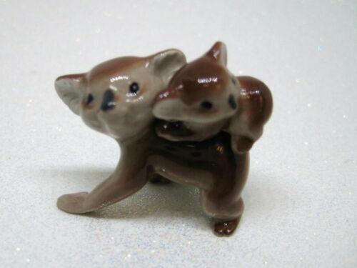 Hagen Renaker miniature Made in America Mama Koala with Baby