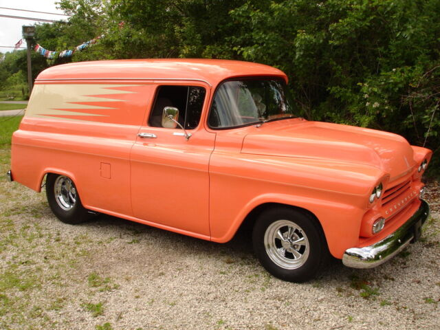 1958 Chevrolet Panel Truck Resto Mod Pro Street Used Chevrolet Other Pickups For Sale In