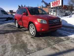 2006 Toyota RAV4 LTD,AWD,4CYL,SAFETY+3YEARS WARRANTY INCLUDED