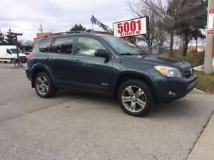 2008 Toyota RAV4 SPORT,AWD,SAFETY+3YEARS WARRANTY INCLUDED