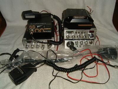 Cobra CB Radio Lot 4 Cobra 21 Cobra 25 LTD Cobra 25 GTL Cobra 19 Ultra 3 Mics