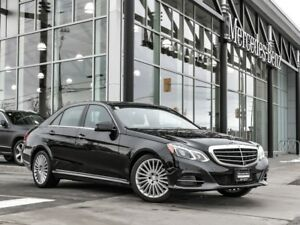 2016 Mercedes-Benz E300 Heated steering, AMG styling, panoramic