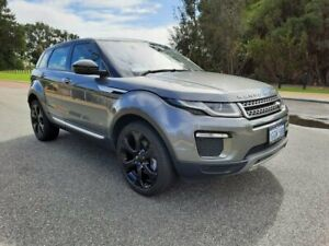 2016 Land Rover Range Rover Evoque L538 MY17 HSE Grey 9 Speed Sports Automatic Wagon
