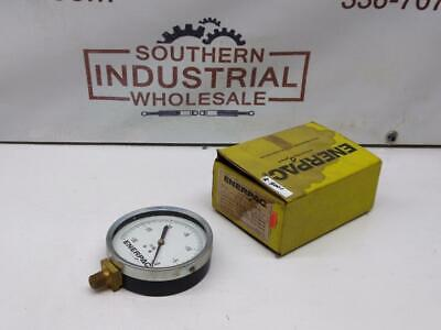 Enerpac 400il -30-0hg 4face 14npt Lower Mounted Gauge