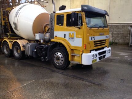 Concrete Truck with Cartage Contract Silverwater Auburn Area Preview