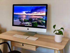 """iMac 27"""" Retina 5K. 4GHz Intel Core i7. 16GB. 500GB SSD"""