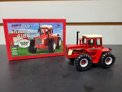 INTERNATIONAL 4186 NATIONAL FARM TOY MUSEUM TRACTOR ZFN44237