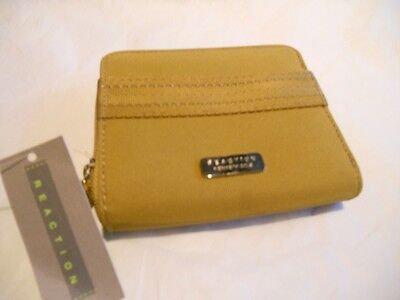 Ladies Kenneth Cole Reaction Credit Card Wallet Gold