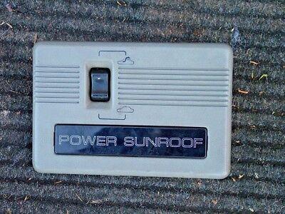 Mitsubishi Pajero Shogun MK2 LWB Power Sun Roof Switch Assembly